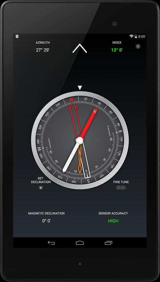 Android-Pusula-Uygulaması