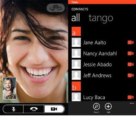 tango-uygulamasi