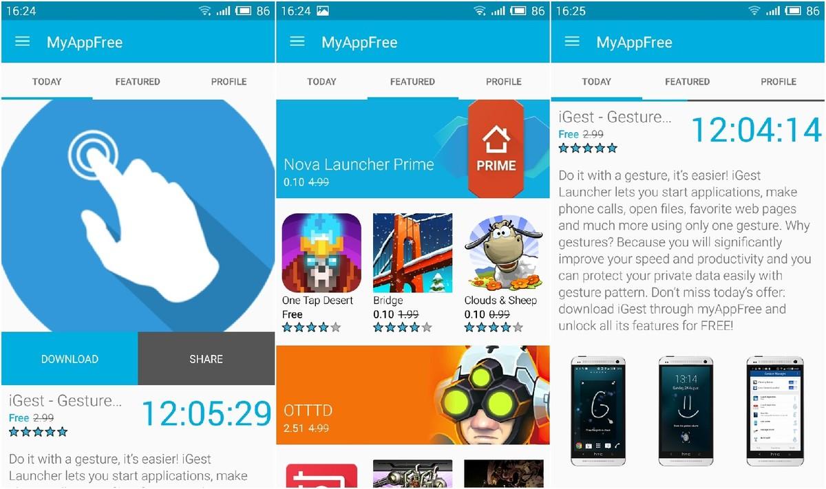 myAppFree-android-uygulama